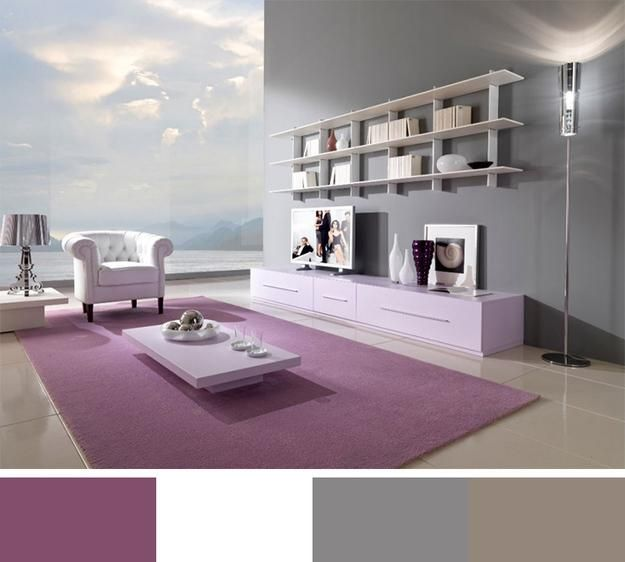 12 modern interior colors decorating color trends paint - Color scheme generator interior design ...