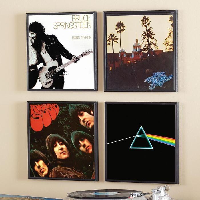 "3 Frame Wall Art 10/"" Album Display Frames Vinyl LP Record Cover Sleeve  Music"