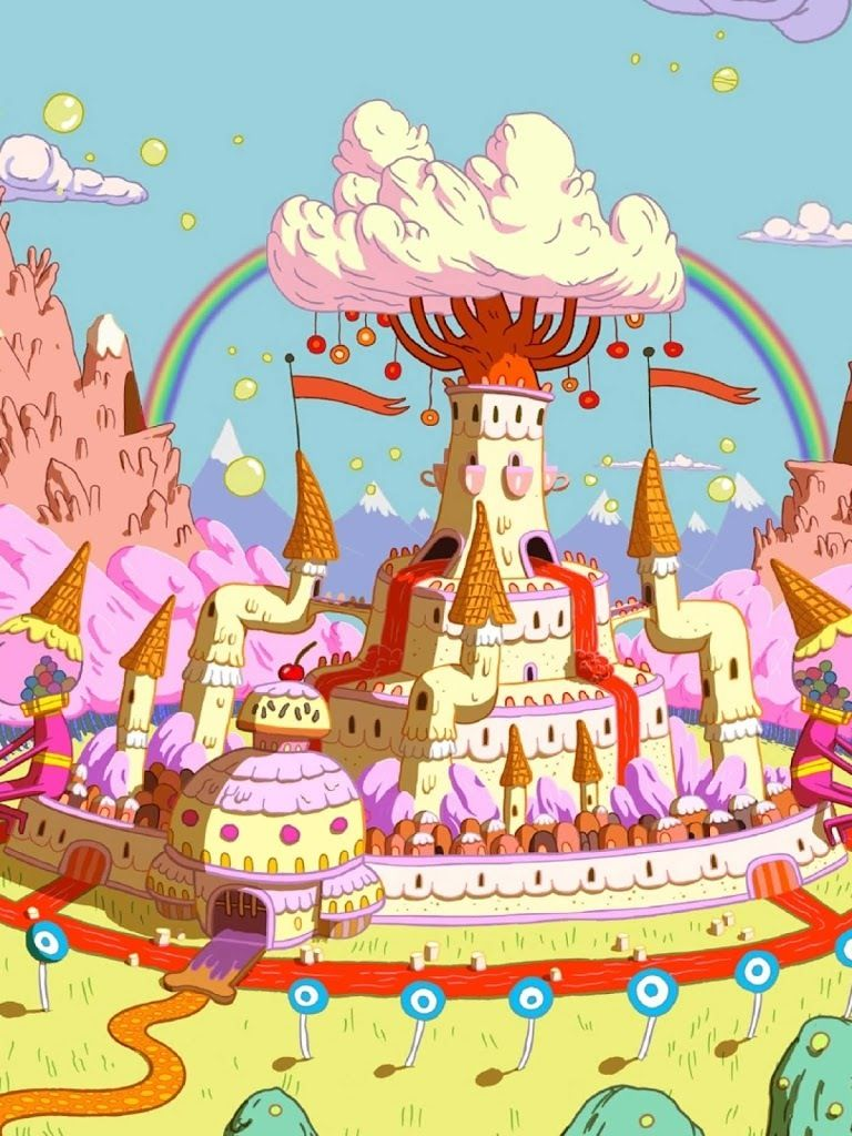 candy kingdom Arte de adventure time, Dibujo animado