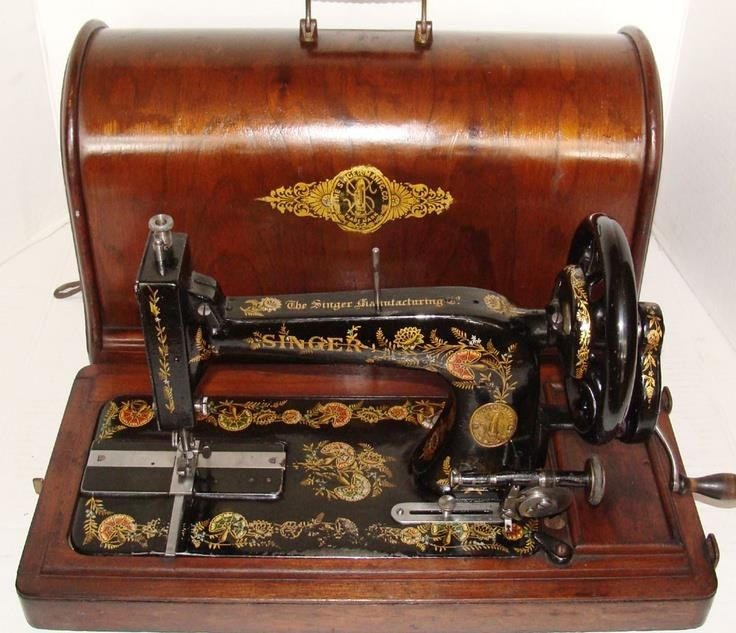 I Antique Sewing Machines Singer From Treadle And Hand Crank Mesmerizing Vintage Hand Crank Sewing Machine