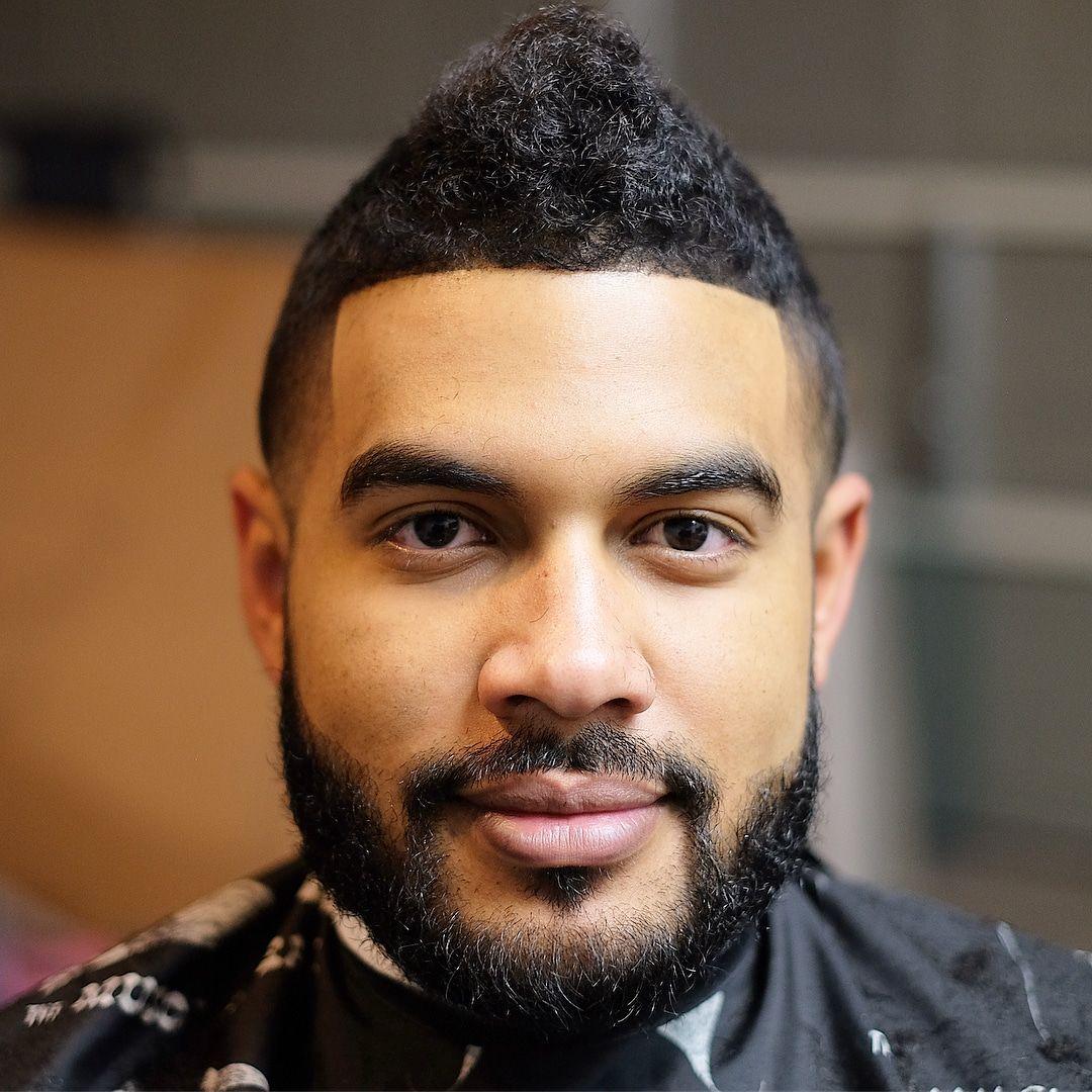 Curly Mohawk Haircut Menshair Menshairstyletrends