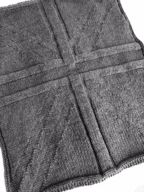 Union Jack Blanket Knitting Pattern Pdf Instant Download Pram