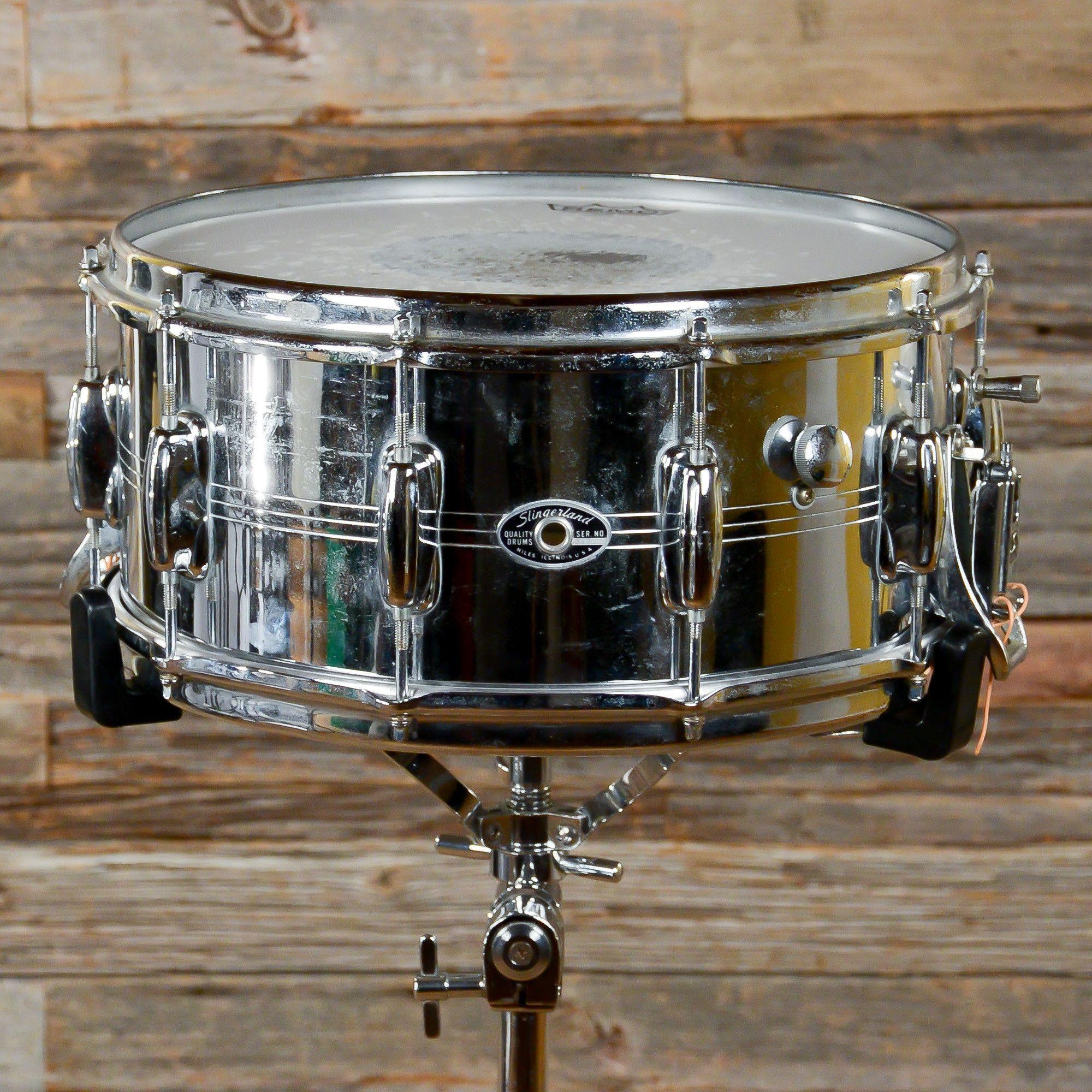 Slingerland 6.5x14 Gene Krupa Sound King COB Snare Drum 70s ...