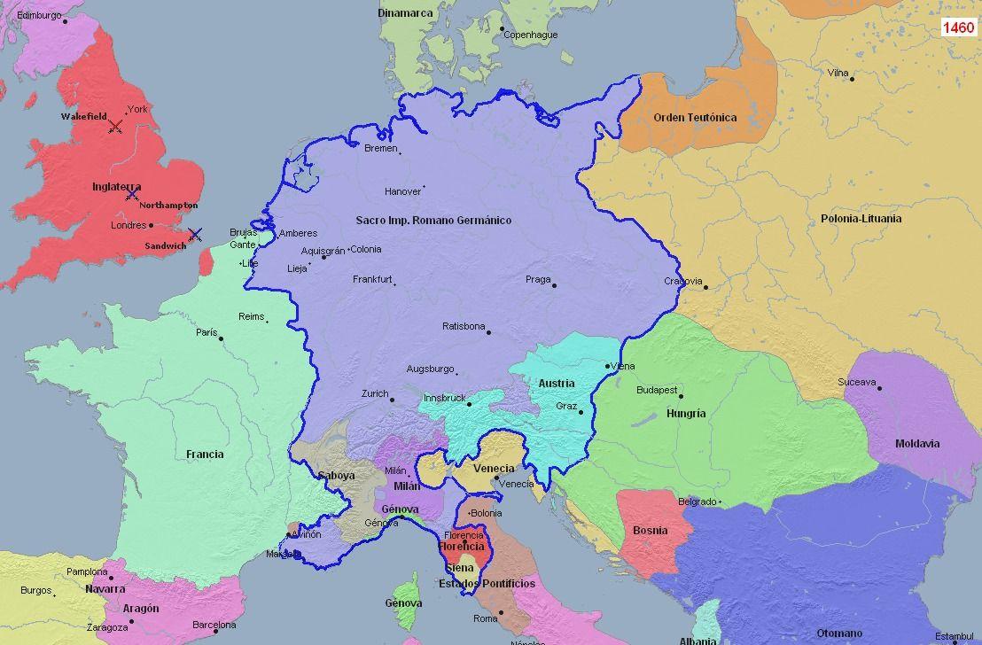 El guardián entre el benzeno Sacro Imperio Romano