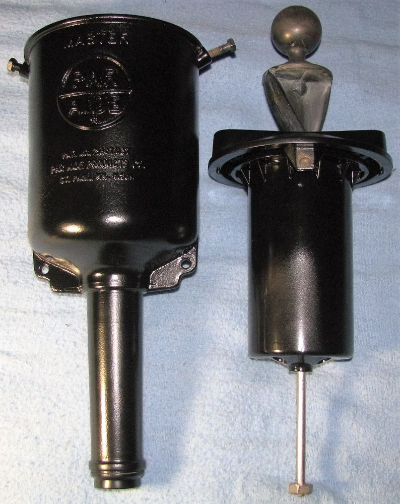 Vintage Master Par Aide Golf Ball Washer Cleaner Black Cast Aluminum No Pole Washer Cleaner Washer Cleaners