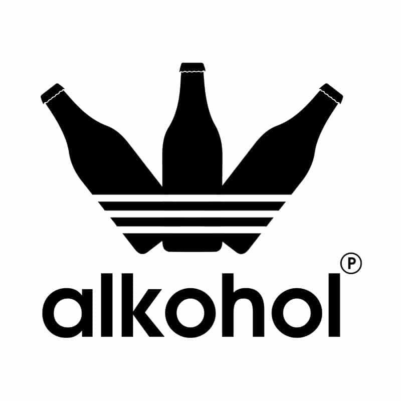 alkohol és látvány
