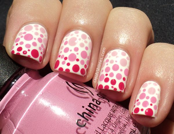 Oooh, Shinies!: Dotted gradient