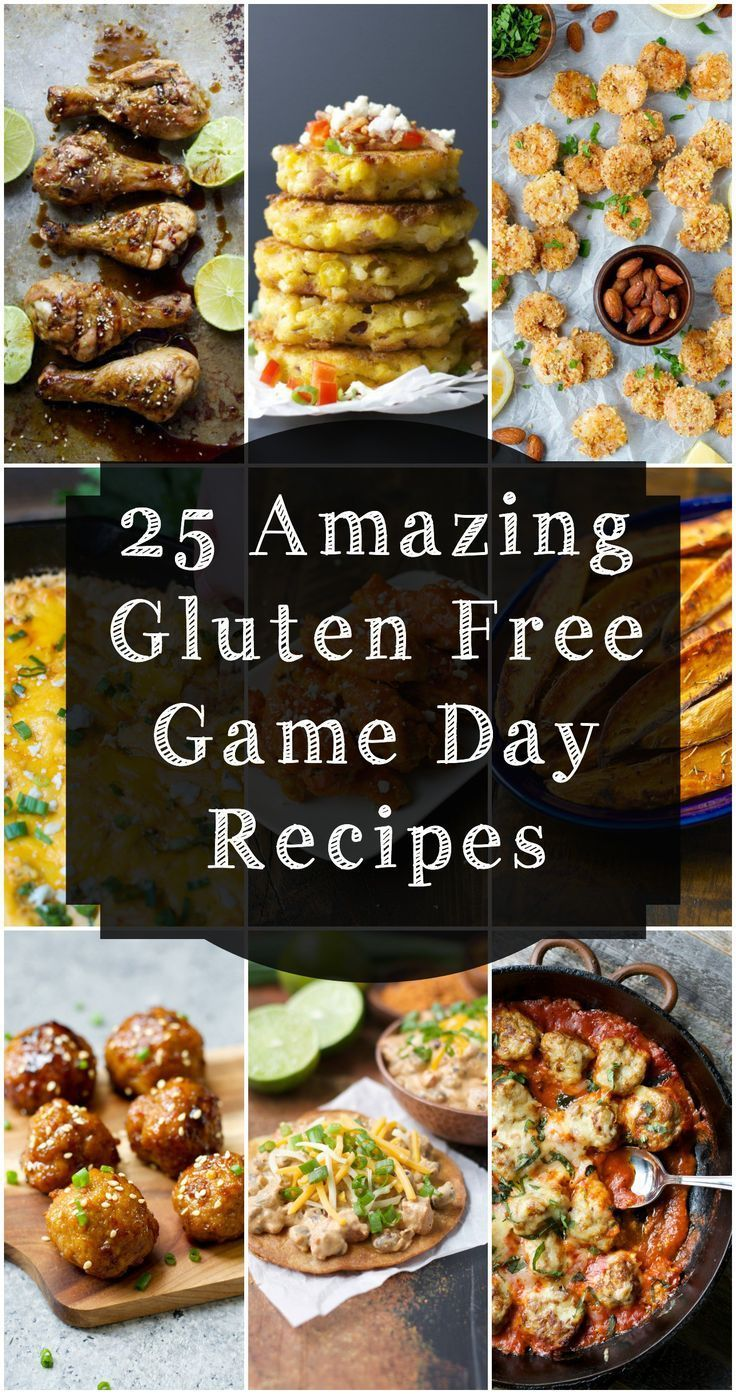 25 AMAZING Gluten Free Game Day Recipes! Easy Appetizers