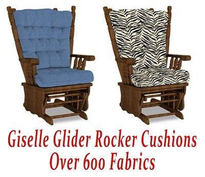 Bhfcc6877 1 Glider Rocker Cushions For Giselle Chair Glider Rocker Cushions Glider Replacement Cushions Glider Cushions