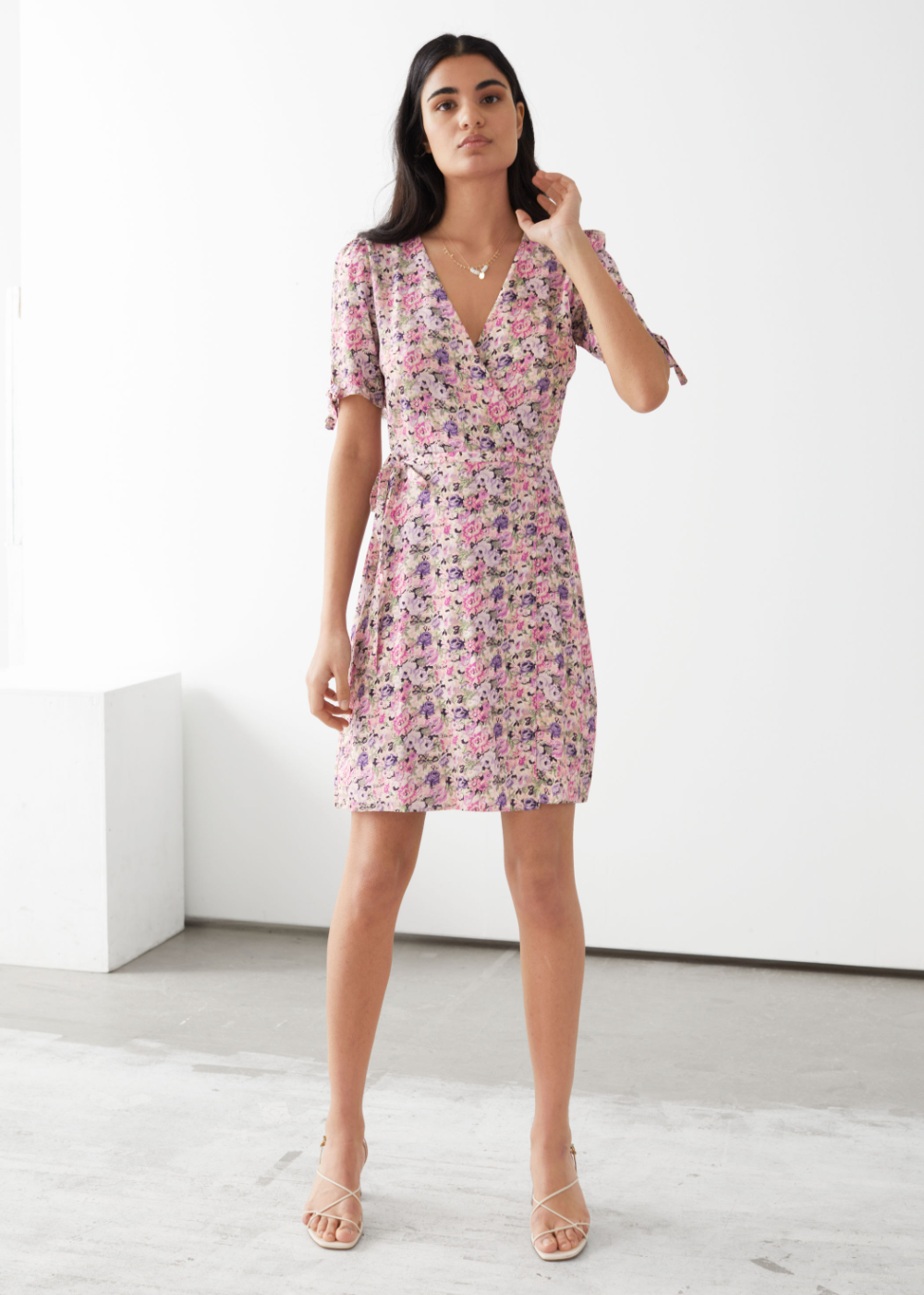 Mini Wrap Dress Wrap Dress Mini Wrap Dress Dresses [ 1400 x 1000 Pixel ]