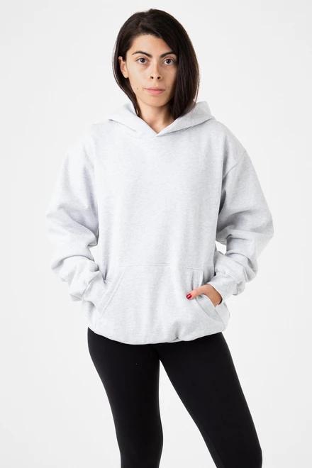 Hf 09 Unisex 14oz Heavy Fleece Hooded Pullover Sweatshirt In 2020 Hooded Pullover Sweatshirts Pullover Sweatshirt