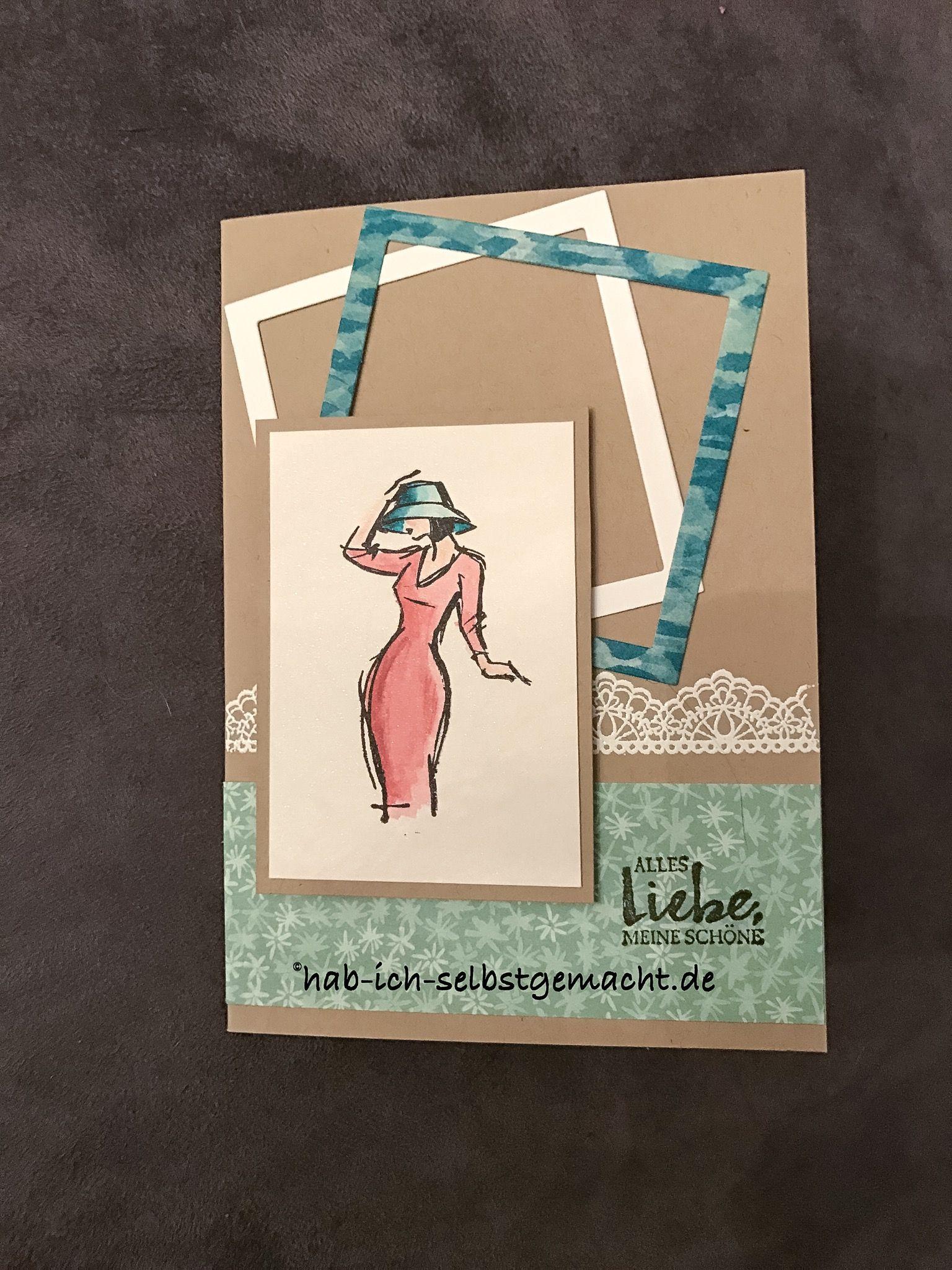 hab ich selbstgemacht geburtstagskarte stampin up mit stil beautiful you julia roth hab ich. Black Bedroom Furniture Sets. Home Design Ideas