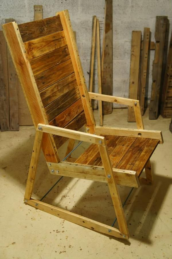 diy pallet rocking chair plans office chairs chicago il wood furniture