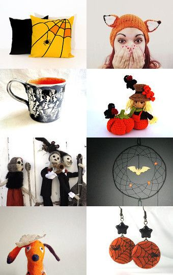 Halloween and me by Veronika on Etsy--Pinned with TreasuryPin.com