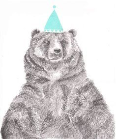 bear illustration - Поиск в Google