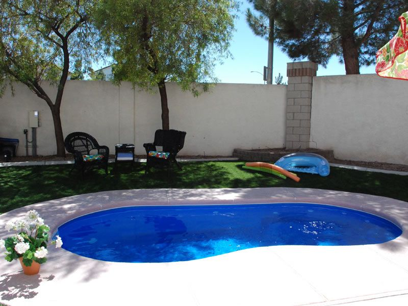 Fiberglass swimming pool designs design ideas for Design your own inground pool