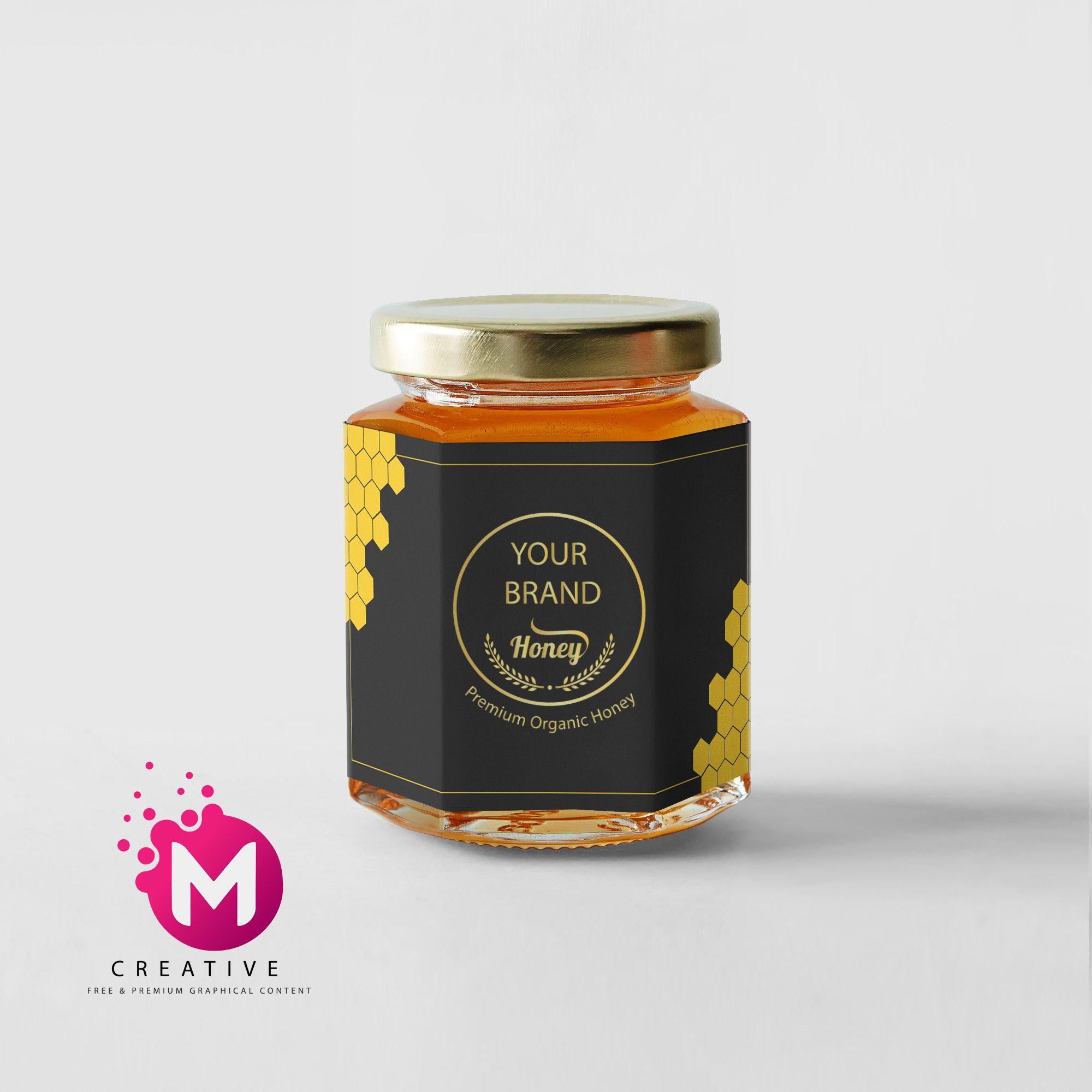 Honey jar label in 2020 honey jar labels jar labels