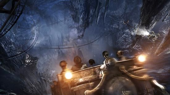 Universal S Concept Art For Harry Potter And The Escape From Gringotts