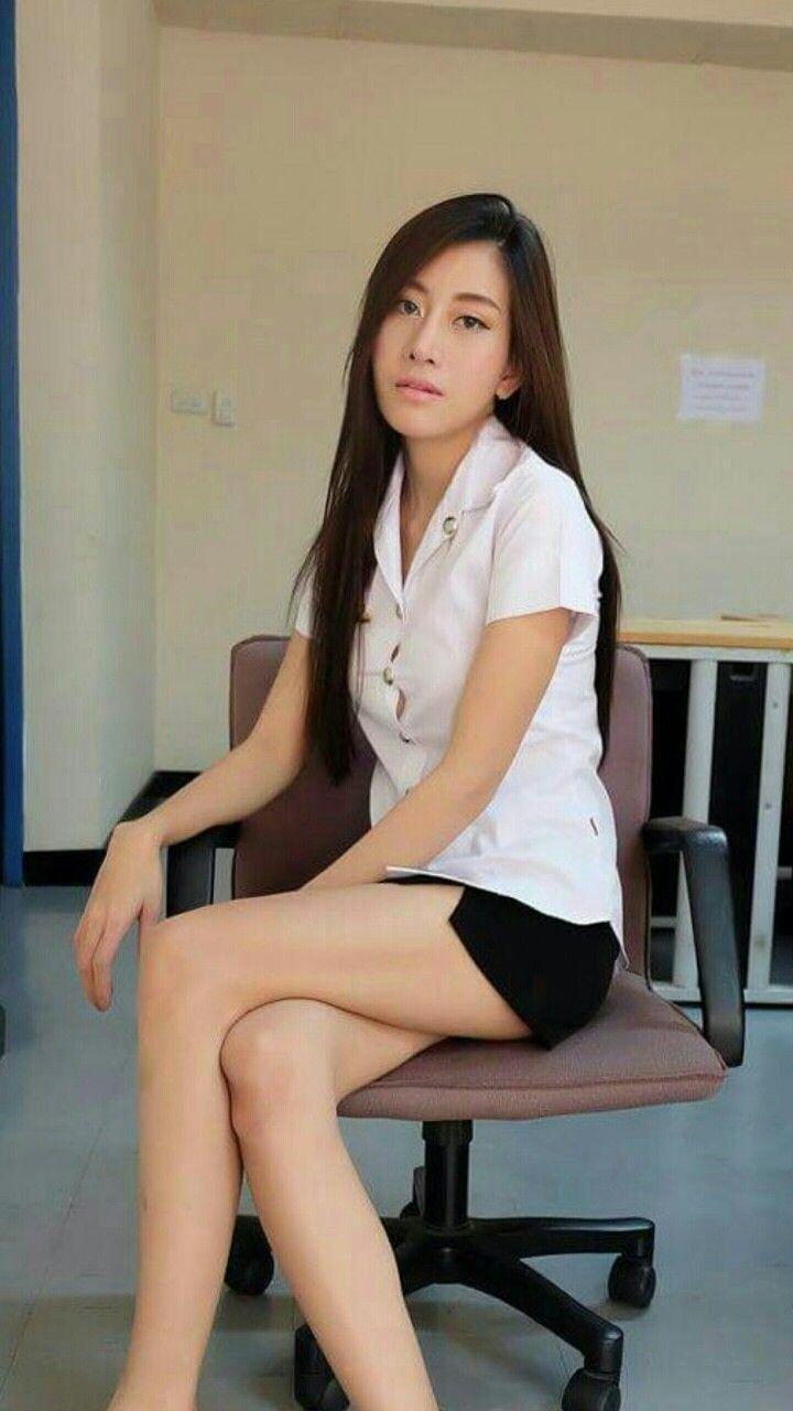 Thailand University Girl Thai Student Girls Pinterest