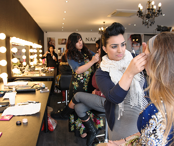 Our makeup academy can help your launch your MUA career