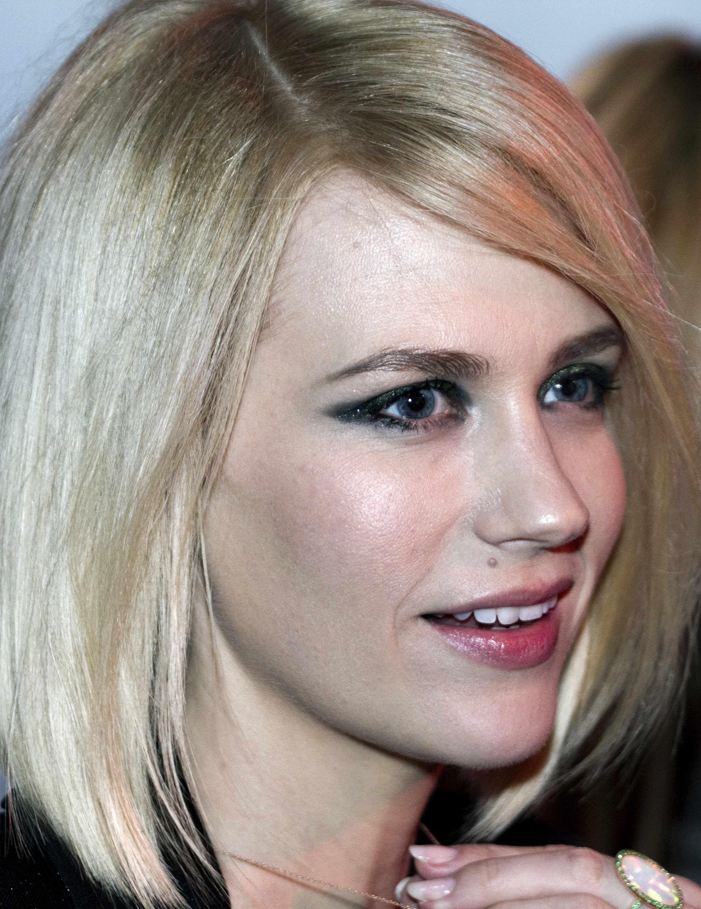 January Jones Eye Makeup Fashion Is Art Pinterest Edgy Eye