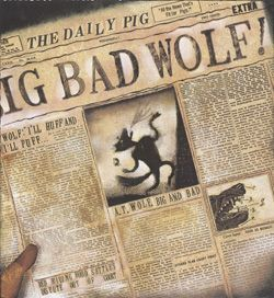 This Is A Picture Of The Wolf In The Newspaper Saying That
