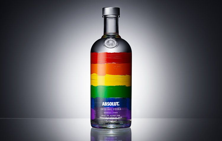 Absolut rainbow edition building a strong relations with