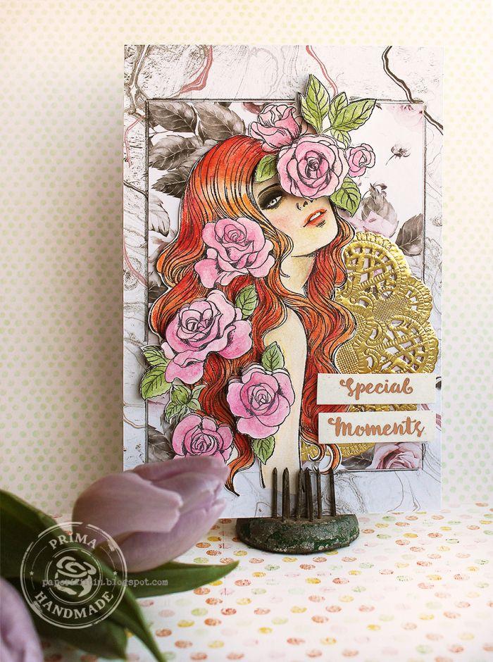 Prima Marketing Prima Princess Stamp Stella