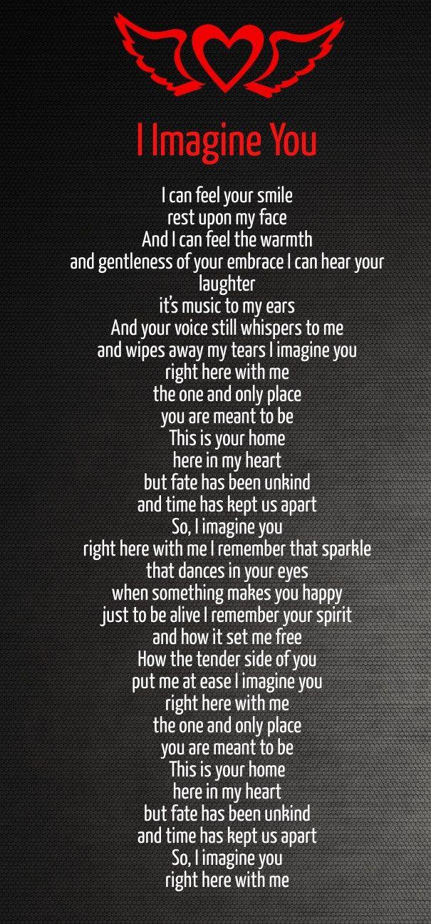 Deep Romantic Love Poems   Love poem for her, Love poems for him, Poems for her