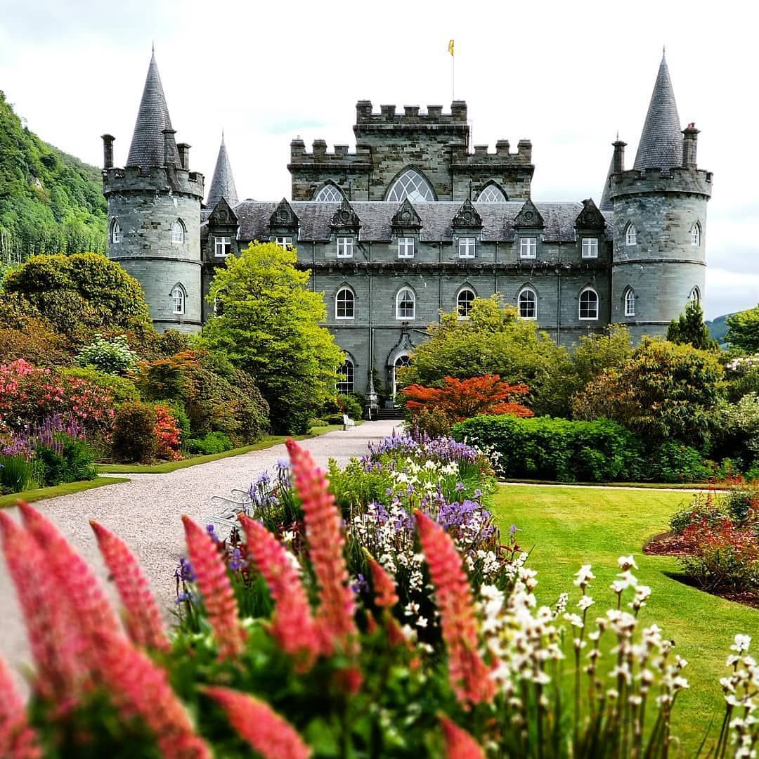 Обои scotland, Шотландия, sutherland, Dunrobin, замок. Города foto 15