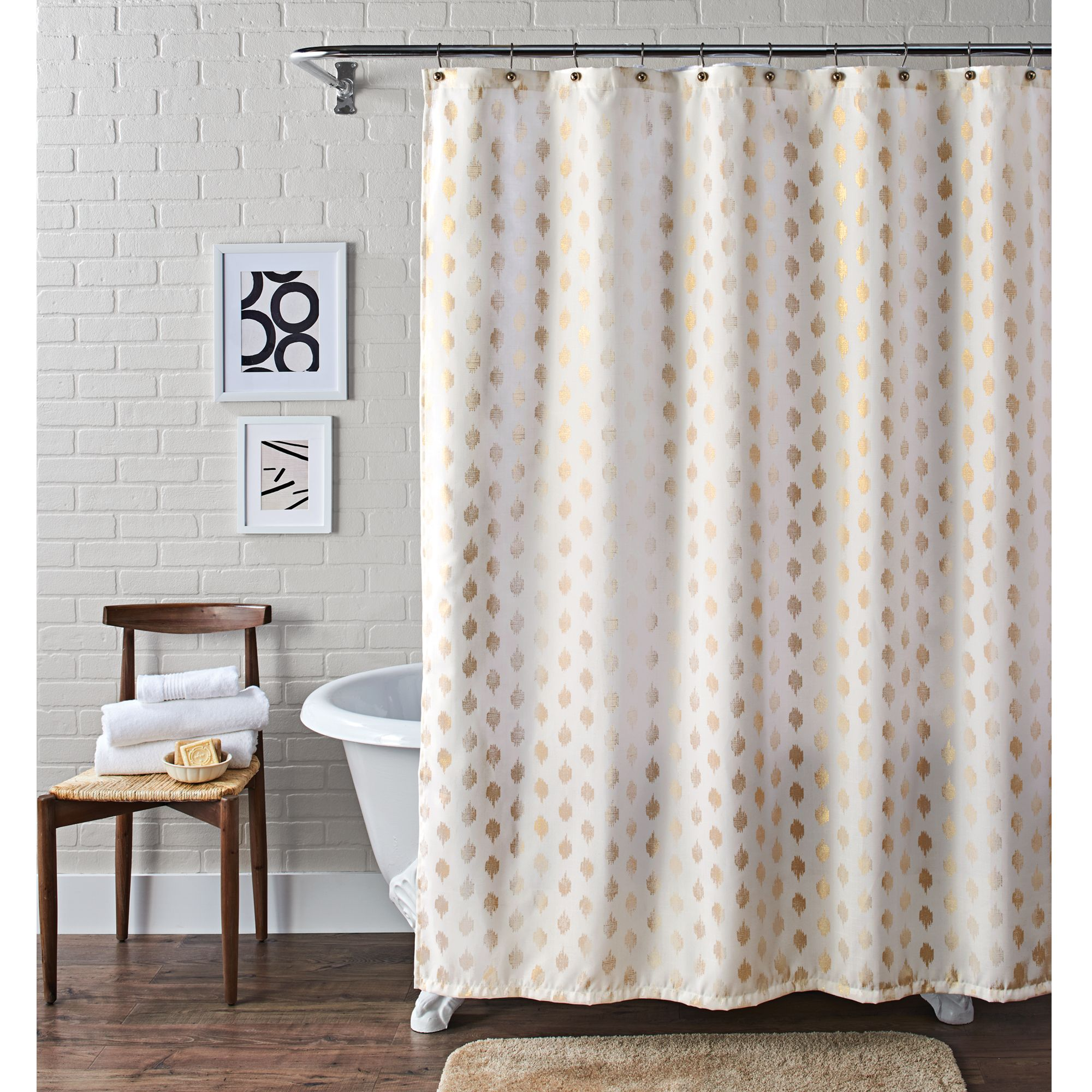 Home Fabric Shower Curtains Shower Curtains Walmart Bathroom Decor
