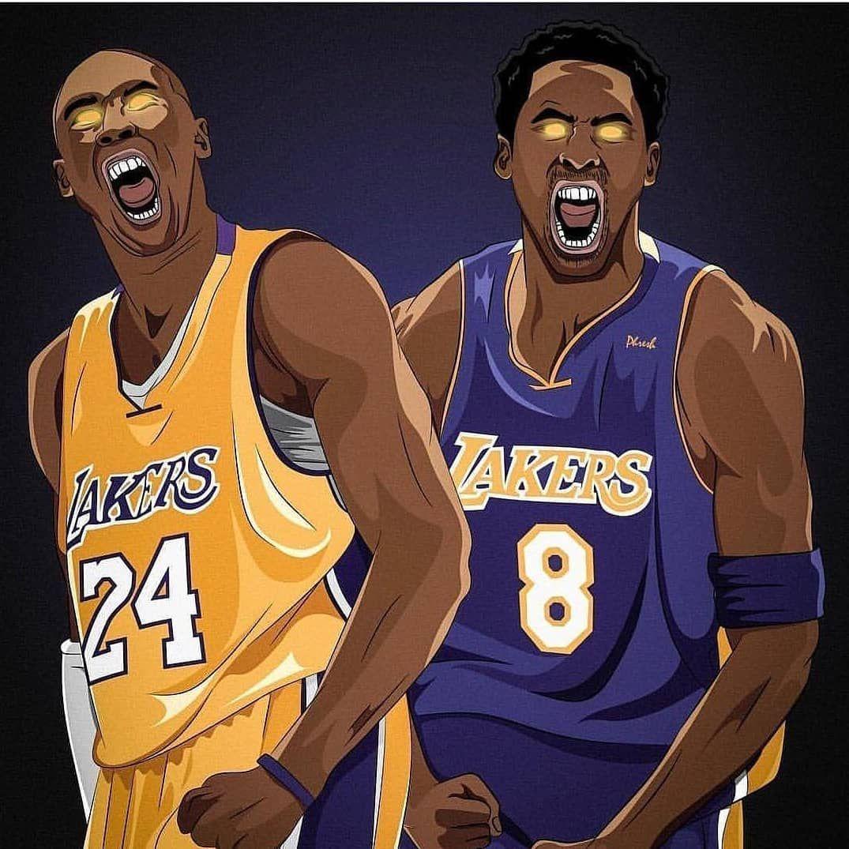 online retailer 4a67f b071d Los Ángeles Lakers retirarán hoy las camisetas 8 y 24 de ...
