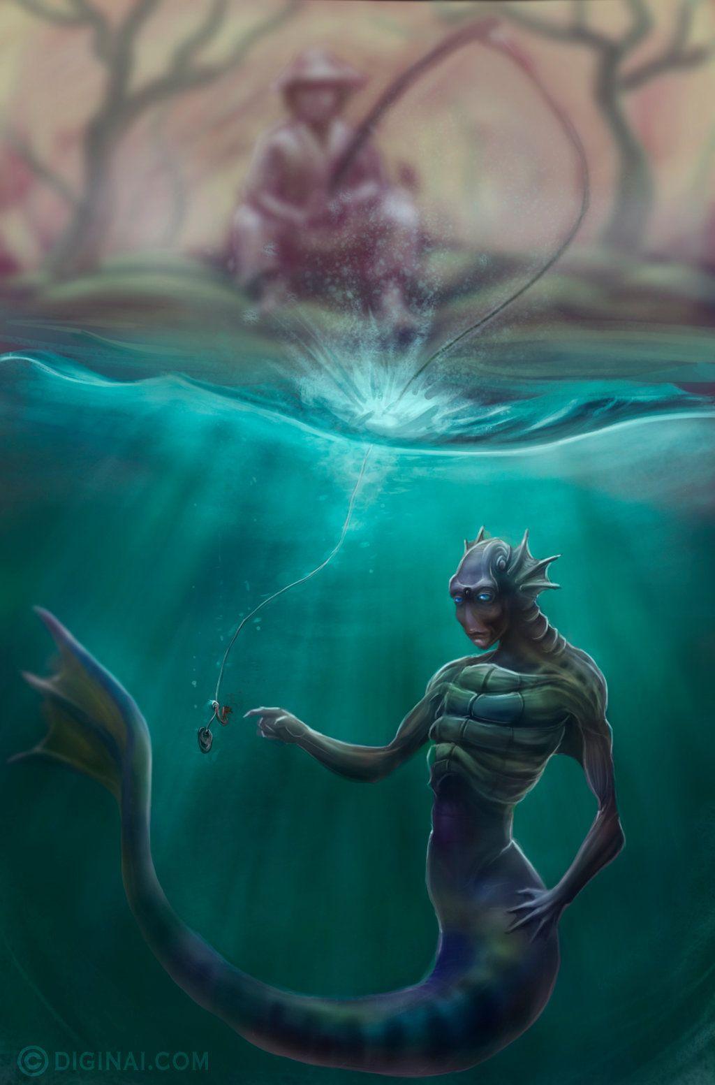 monstruos y fantasia 1 by diginai.deviantart.com on @DeviantArt