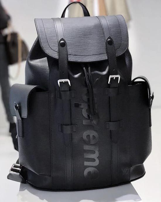 a25510001107 ルイヴィトン スーパーコピー × SUPREME シュプリーム M53413 Epi Christopher Backpack PM エピ  クリストファー リュック バッグ