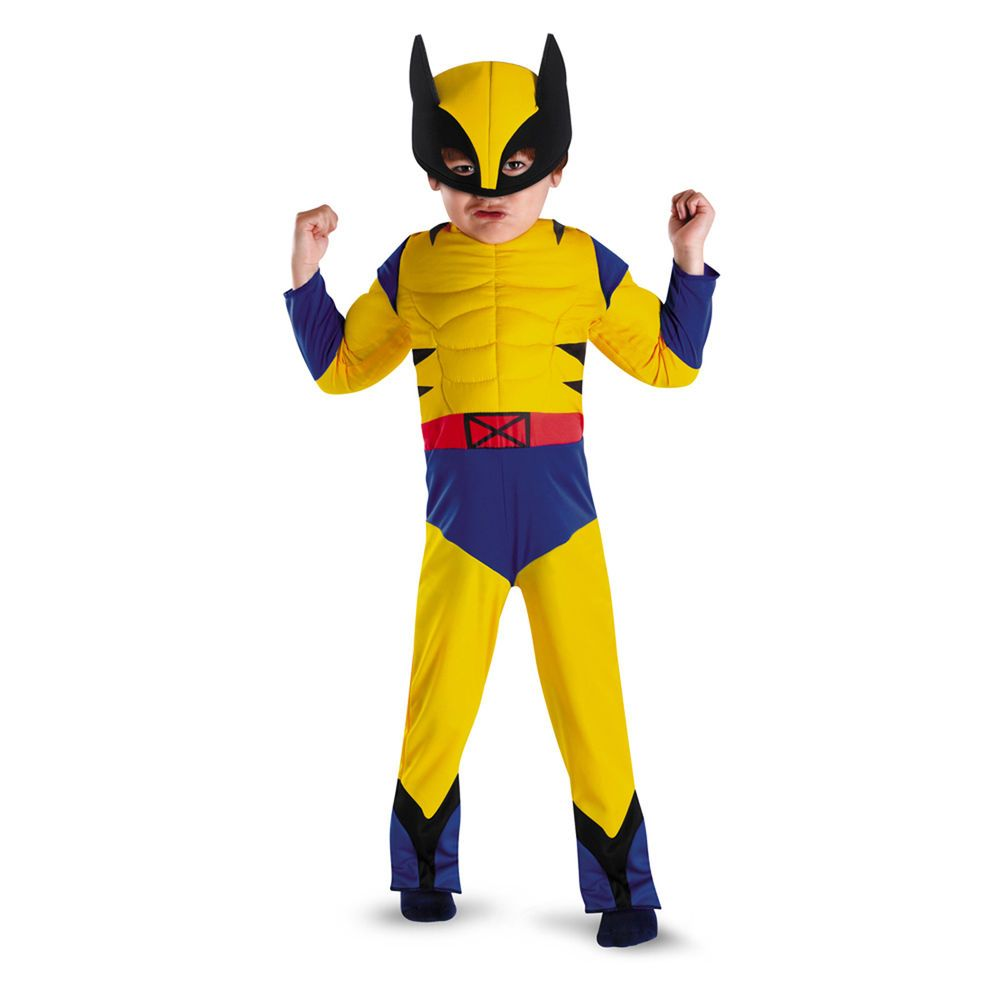 MARVEL Wolverine Muscle Costume X-Men | Disguise 50124 Child Toddler M 3T - 4T #Disguise #Costume