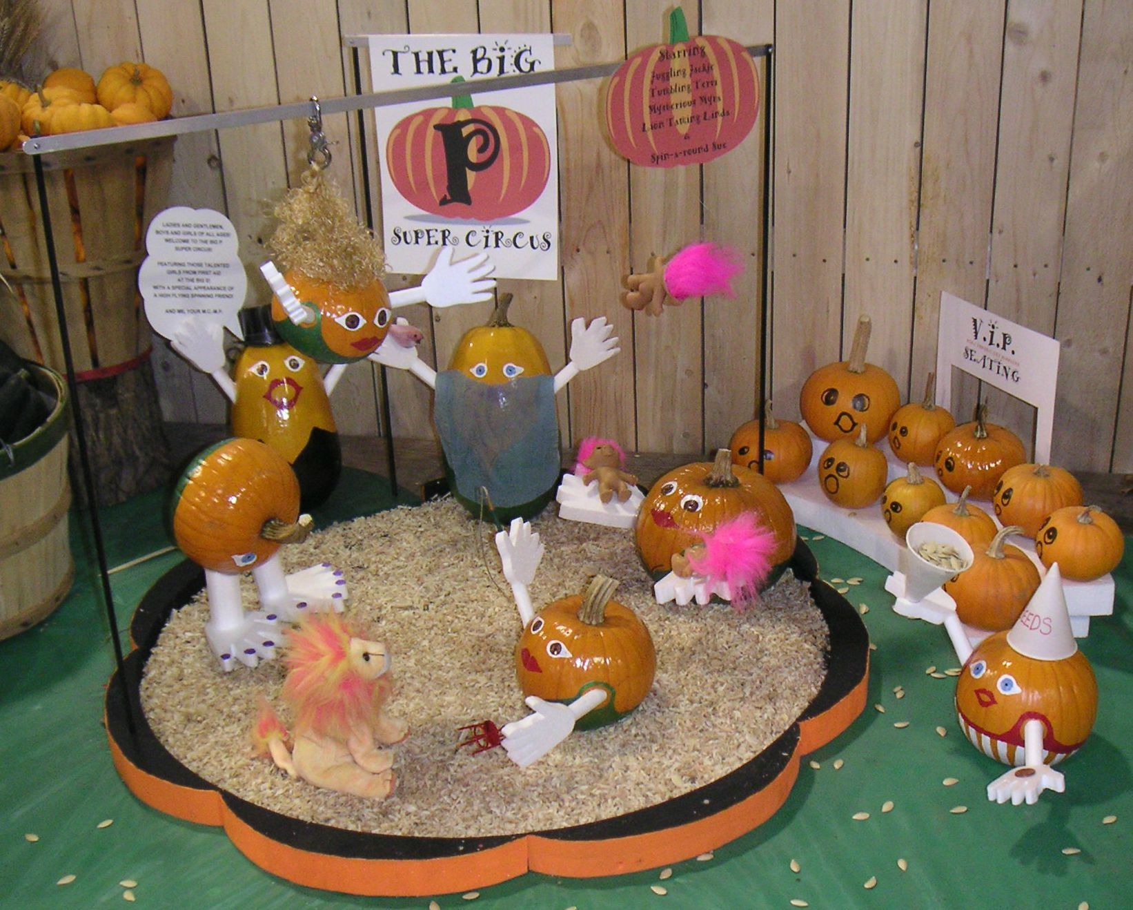 A Pumpkin Circus At The Big E In 2004 By