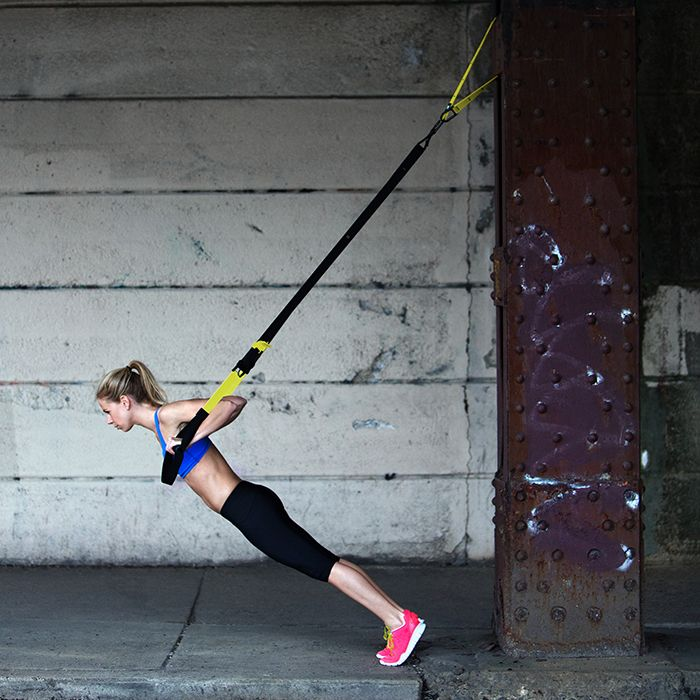 There's nothing better than a full-body workout on days you just want to kick your own butt. And the TRX Suspension Trainer is the perfect tool, as it allows you to perform over 300 (!) exercises