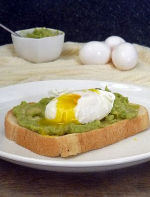 Poached Egg on Toast Breakfast | by Life Tastes Good is a healthy breakfast full of protein to keep you going all morning long! Oh, and it j...