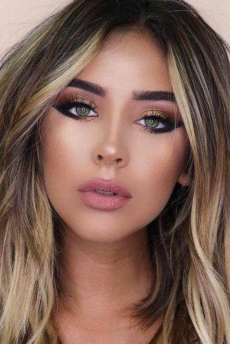 24 Best Fall Makeup Looks and Trends for 2019   beautiful ...
