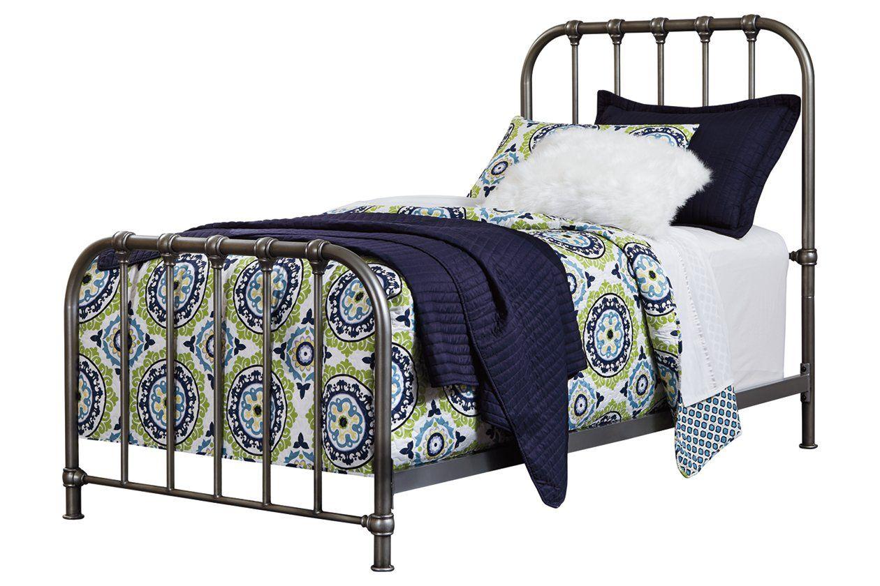 Nashburg Twin Metal Bed Ashley Furniture HomeStore in