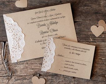 custom vintage lace doily wedding invitation suite script calligraphy font baby u0026 bridal shower