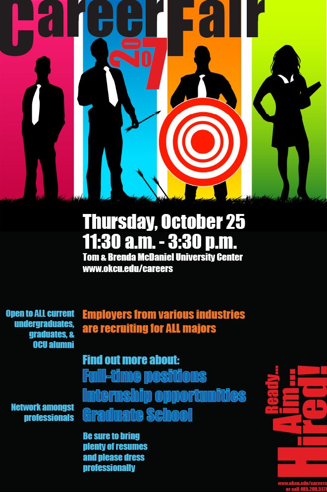 Career fair flyer career center ideas pinterest marketing career fair flyer maxwellsz