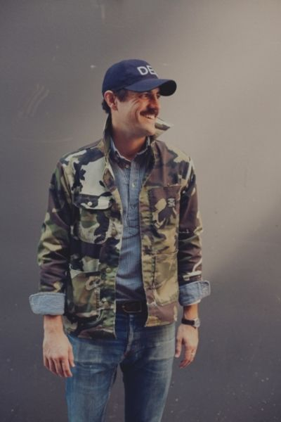 55a768811d7e5 DEL. Cap & Camo Chore Coat | Buckshot Sonny's | Mens fashion:__cat__ ...