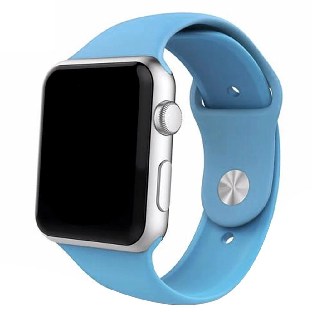 Apple Watch Band, silicone Classic, multicolors in 2020