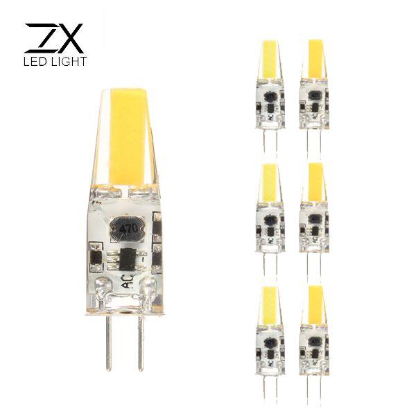 Zx Dimmable Mini G4 Led Cob Led Bulb 2w Dc Ac 12v Chandelier Light Replace Halogen G4 Lamps Kotimart Com Led Bulb G4 Led Bulb