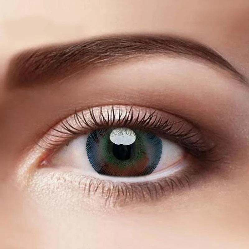 Eye Circle Lens New York Black Colored Contact Lenses A11037 Beauty Eyes Store Contact Lenses Colored Green Colored Contacts Green Contacts Lenses