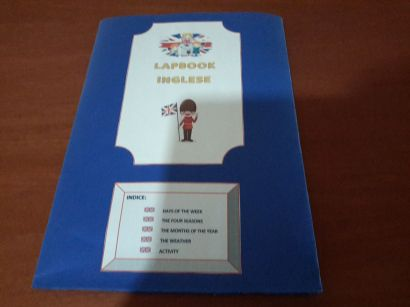 Lapbook Inglese Il Tempo Lapbook Inglese Attivita
