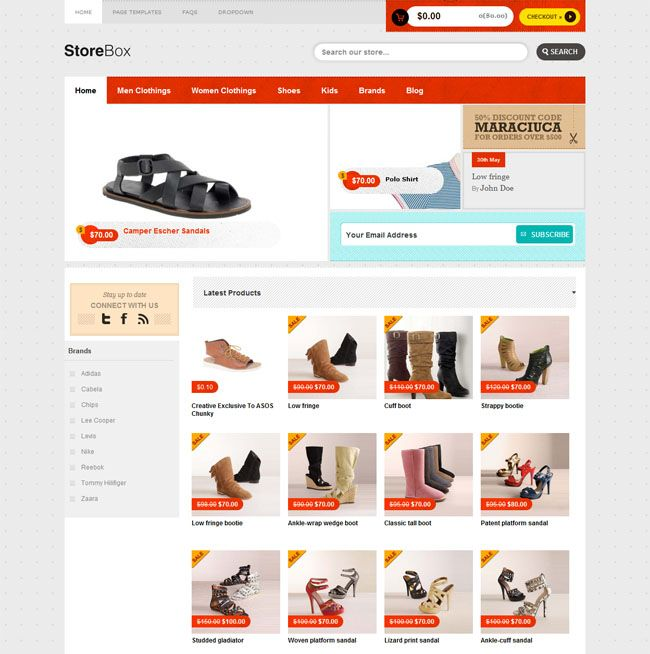 This wordpress theme has a very simple yet amazing look that is this wordpress theme has a very simple yet amazing look that is especially suitable for an e commerce site let check out for more detail maxwellsz