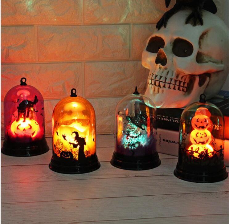 Creative Pumpkin Light Halloween Decoration Desktop Battery Powered
