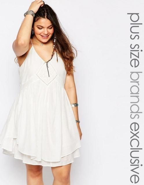 Modelos vestidos blancos para gorditas